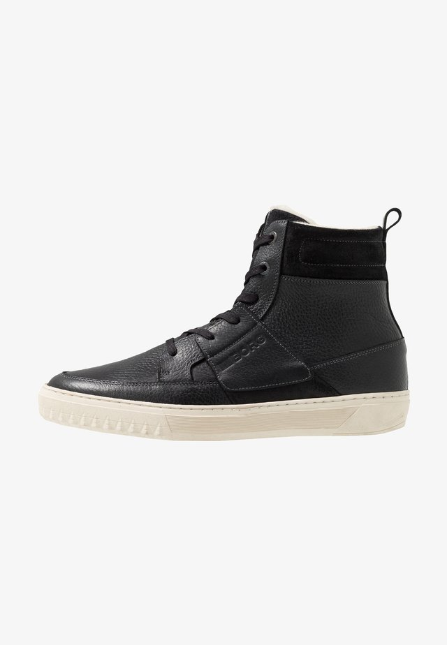 COLLIN - Höga sneakers - black