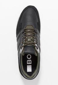 Björn Borg - Sneakersy niskie - black/olive - 1