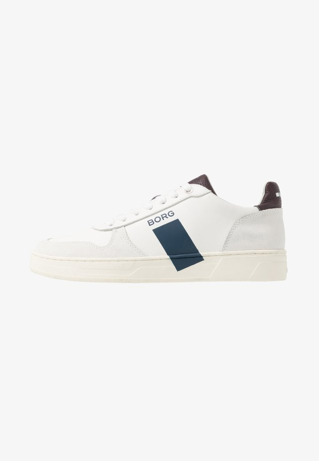 Sneakers - white/burgundy