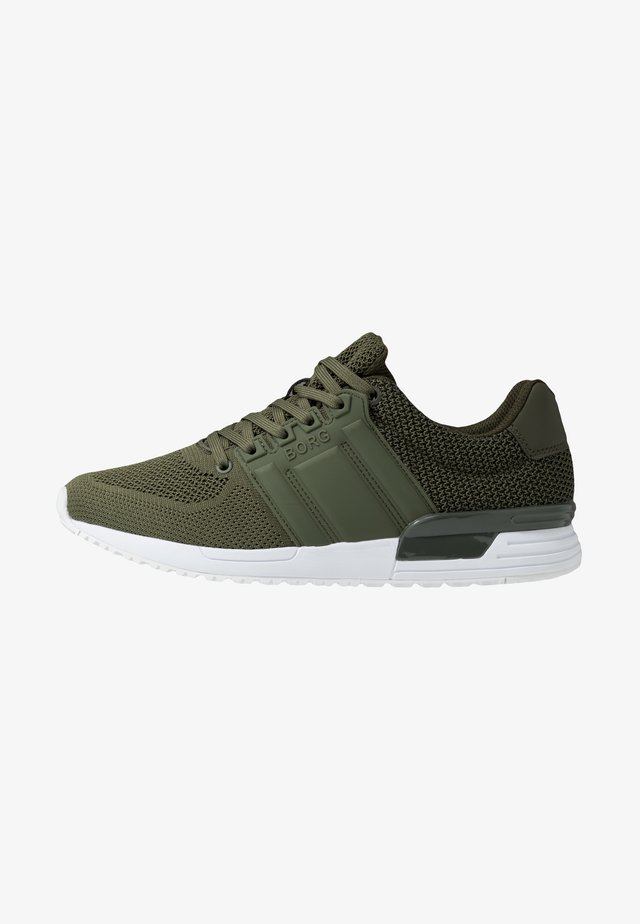 Sneakers laag - olive