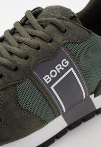 Björn Borg - R610 - Matalavartiset tennarit - olive - 5