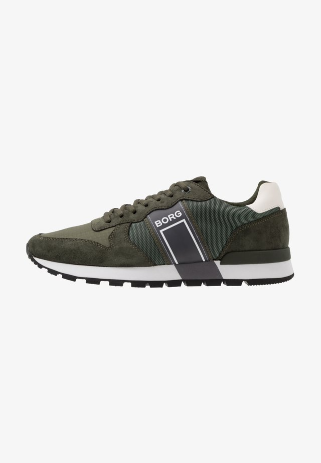 R610 - Sneakers laag - olive