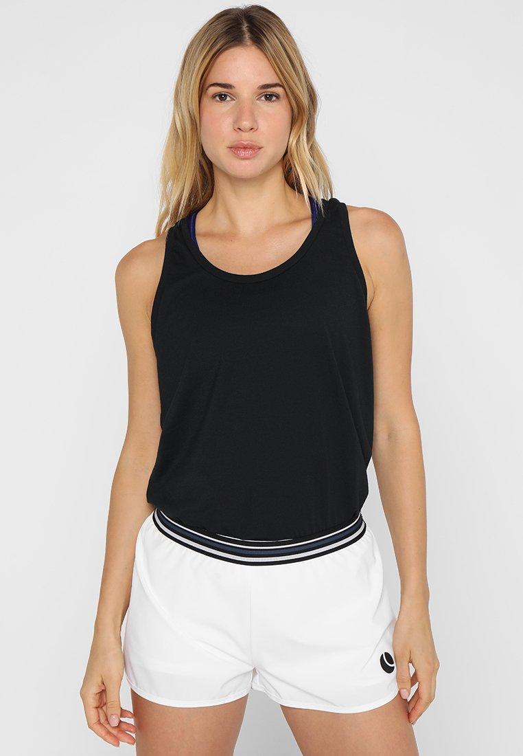 Björn Borg - CHAU LOOSE - Sports shirt - black beauty