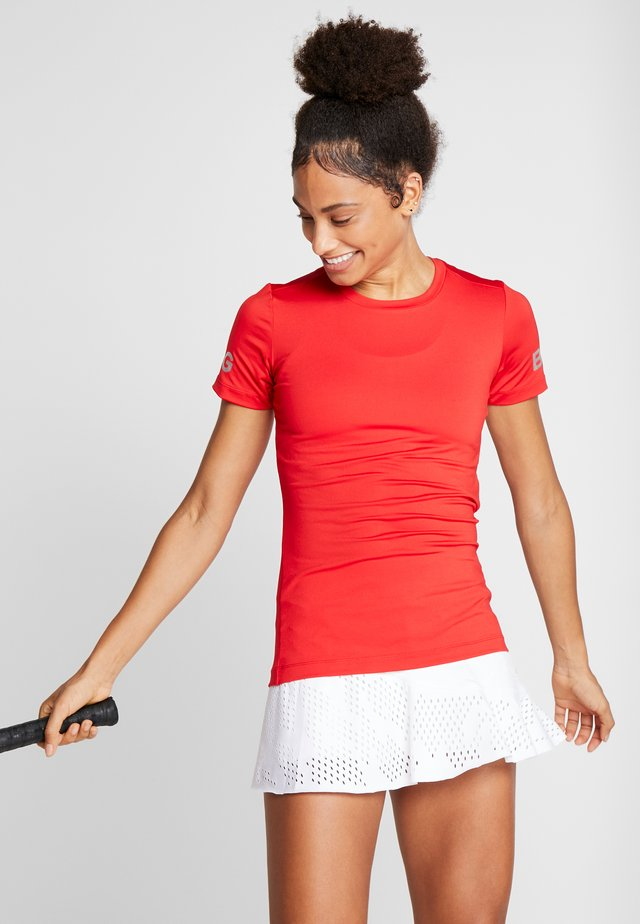 TEE CARLA - T-shirt med print - jester red