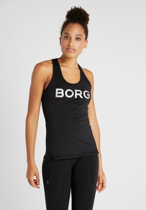 RACERBACK TANK - T-shirt sportiva - black beauty