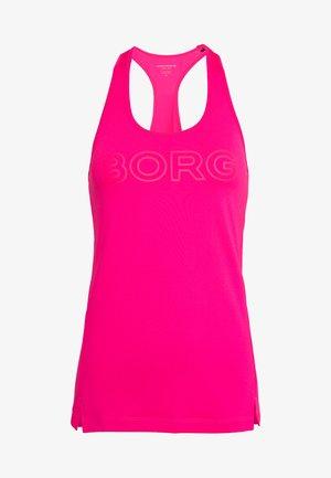RACERBACK TANK - Sports shirt - pink glow