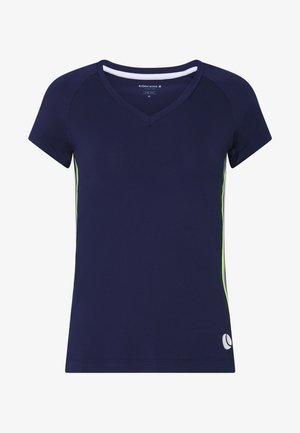 TESIA V TEE - T-shirt print - peacoat