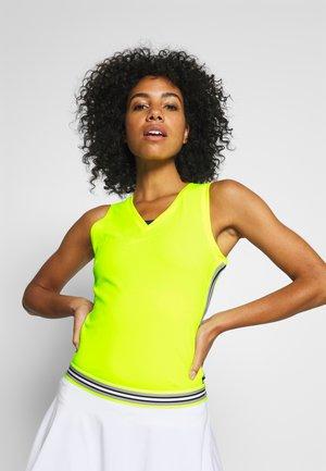 TALA TANK - Funkční triko - safety yellow