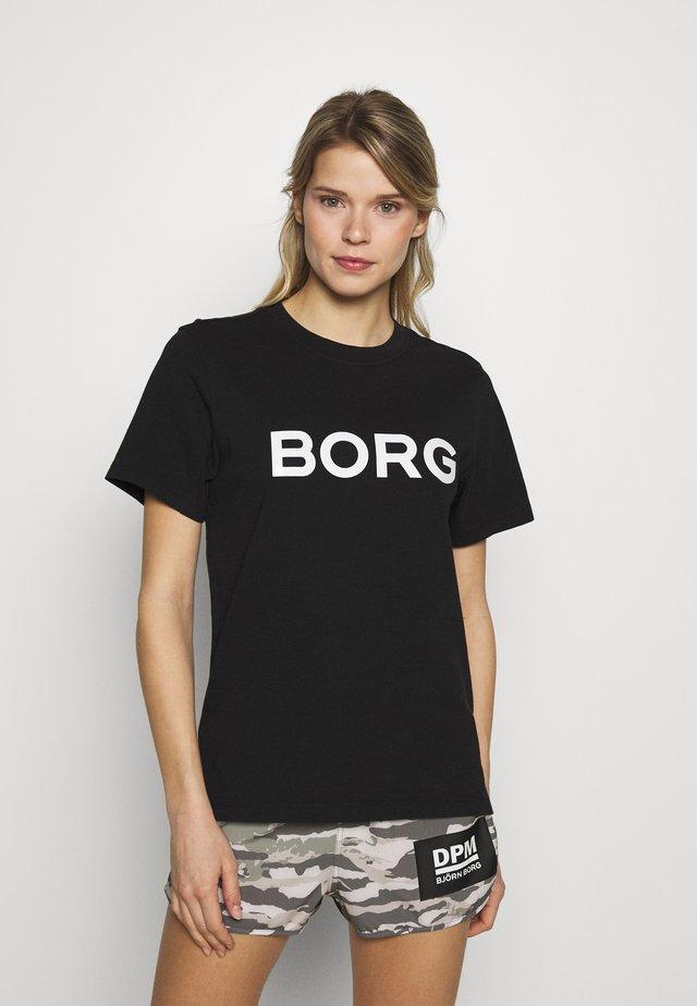 SPORT TEE - T-shirt print - black