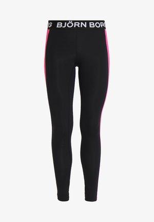 Legging - black cerise