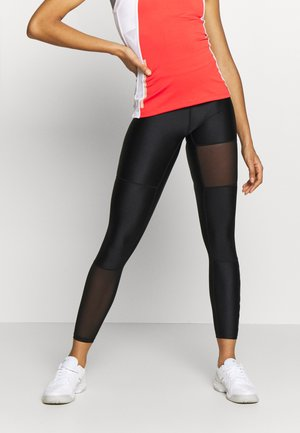 BLOCKED CENDA - Leggings - black beauty