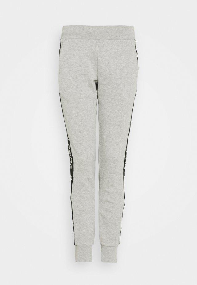 SPORT LOGO PANTS - Träningsbyxor - light grey melange