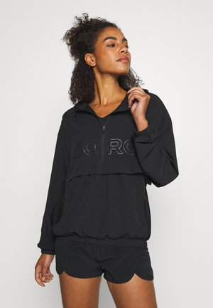 CASH RUNNING JACKET - Träningsjacka - black beauty