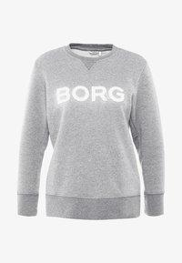Björn Borg - CREW SPORT - Mikina - light grey melange glitter - 3