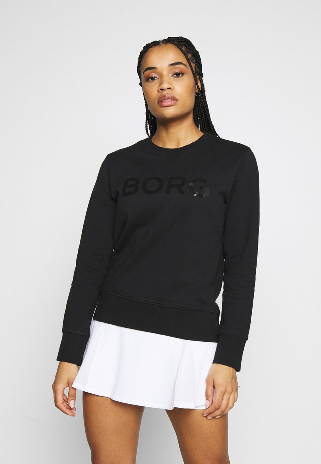CREW SPORT - Sweatshirt - black beauty