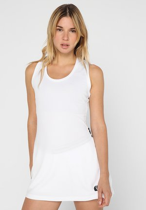 TESS DRESS - Trikoomekko - brilliant white