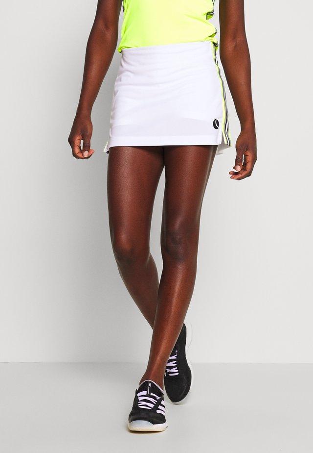 TINDRA SKIRT - Sportkjol - brilliant white