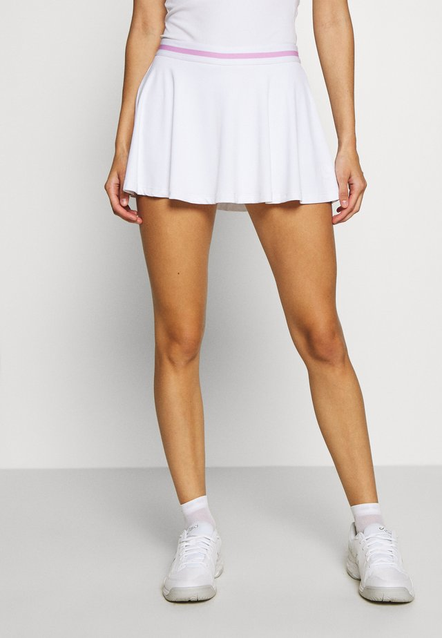 TRISTA SKIRT - Sports skirt - brilliant white