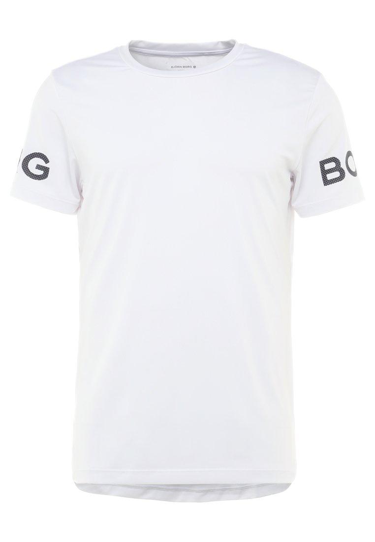 Björn Borg Tee - T-shirts Print Brilliant White