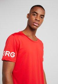 Björn Borg - TEE - Print T-shirt - chinese red - 3