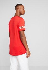 Björn Borg - TEE - Print T-shirt - chinese red - 2