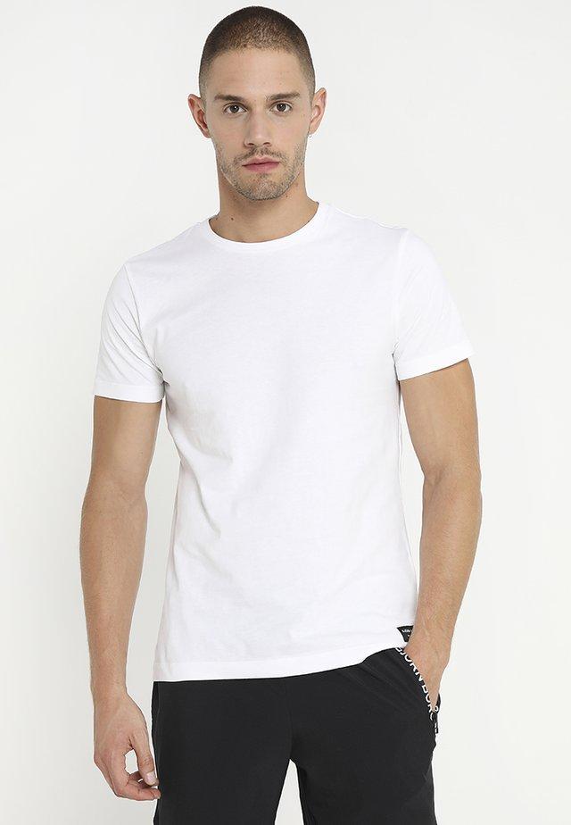 CENTRE REGULAR TEE - T-Shirt basic - brilliant white