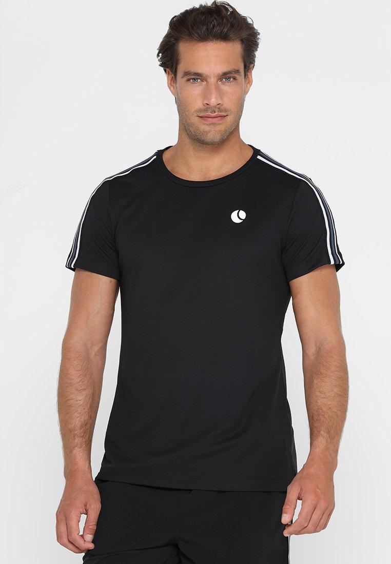 Björn Borg - TOMLIN TEE - T-Shirt print - black beauty