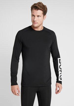 ANTE TEE - T-shirt de sport - black beauty