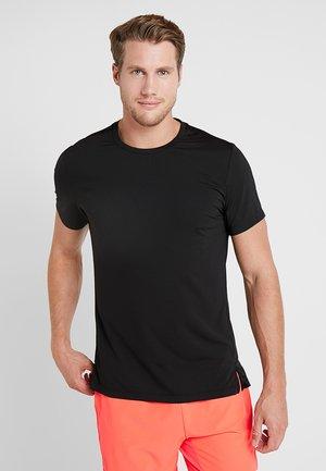 ASTOR TEE - T-shirt med print - black beauty