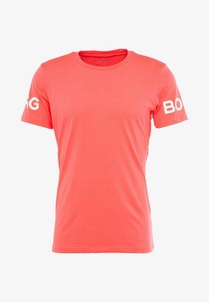 TEE - T-shirt med print - diva pink