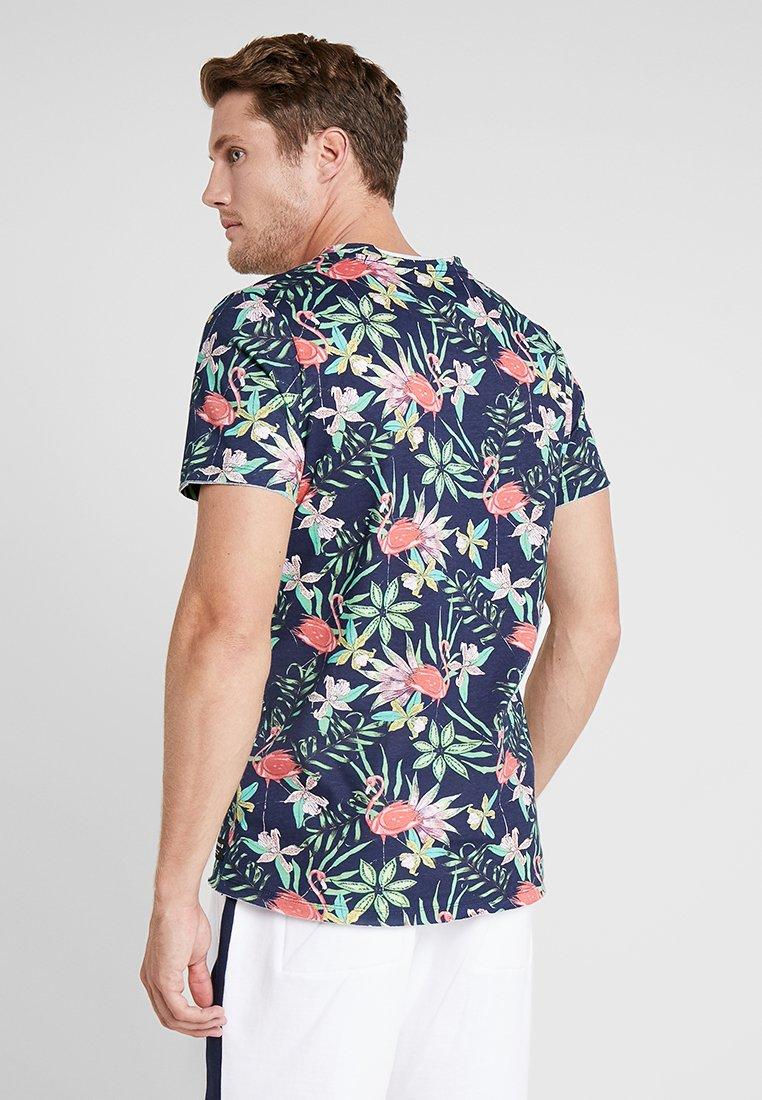 Björn Peacoat Con Tee shirt Summer Exotic EssentialT Stampa Borg MGVLUqSpz