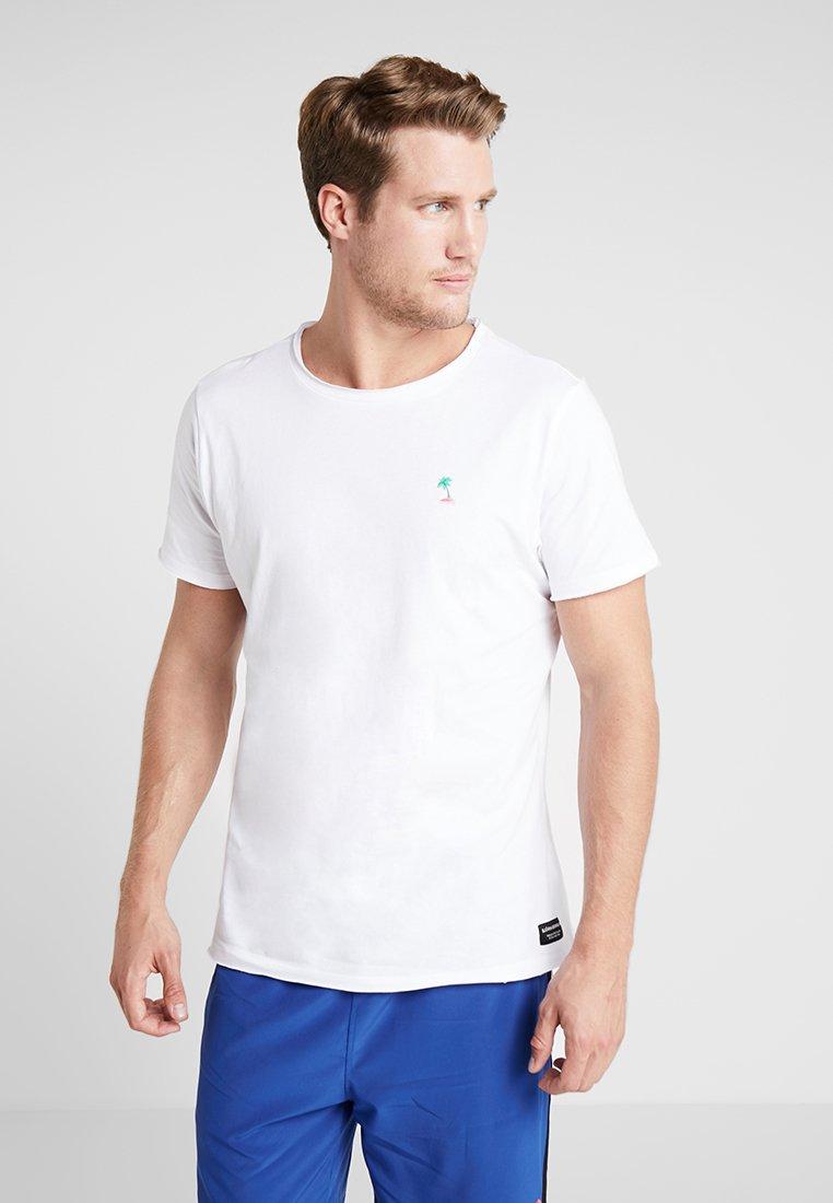 Björn Borg - SUMMER TEE - Print T-shirt - white