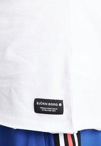 Björn Borg - SUMMER TEE - Print T-shirt - white - 4