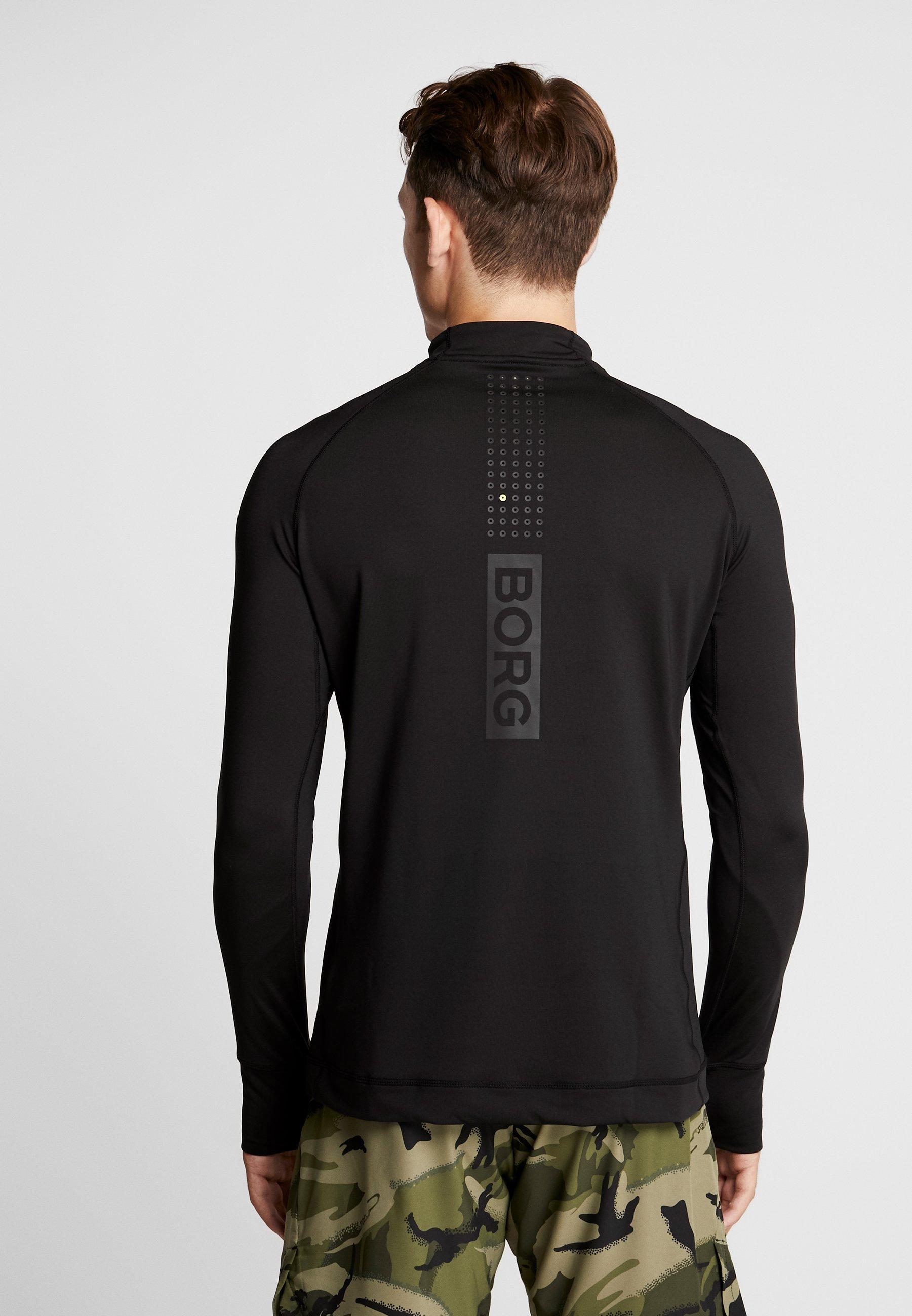 Black Neck AndersT Björn Sport De Borg Mock shirt Beauty srdChQxBt