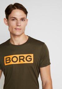 Björn Borg - TEE ATOS - T-shirt imprimé - forest night - 3
