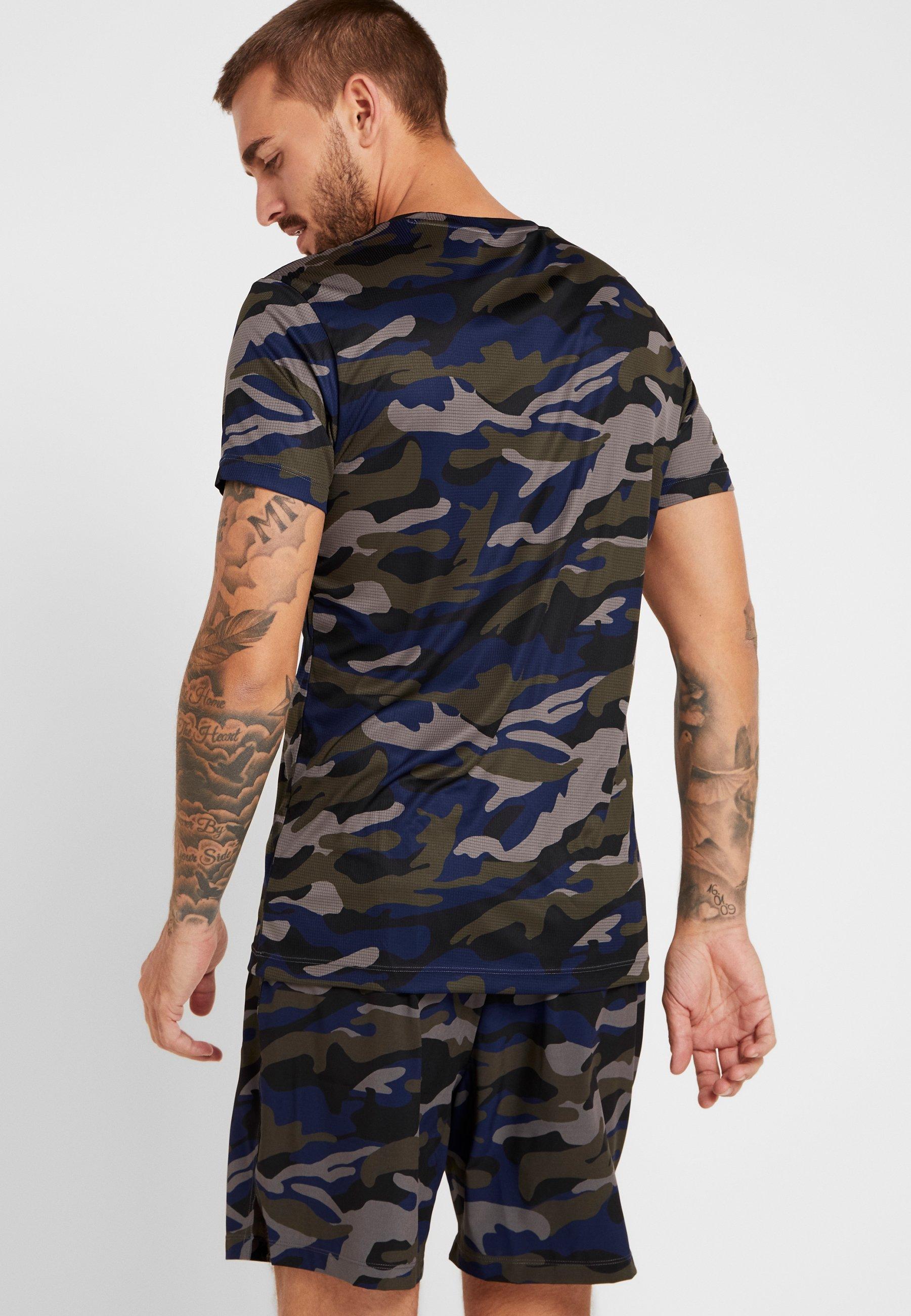AtosT Tee Borg shirt Björn Night Forest Imprimé hCsdtQr