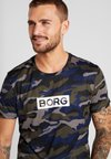 Björn Borg - TEE ATOS - T-shirt med print - forest night