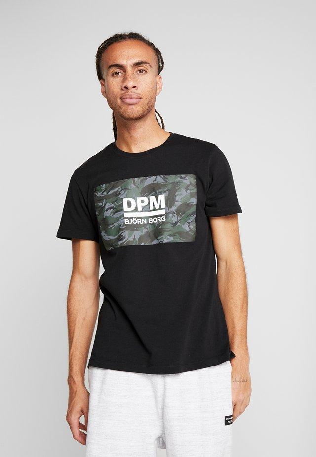 TEE - T-Shirt print - black beauty