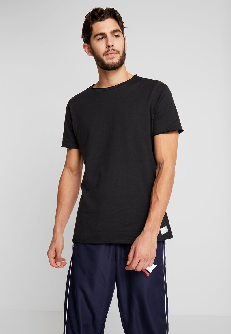 Björn Borg - RELAXED TEE - T-Shirt basic - black beauty