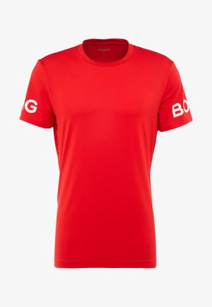 TEE  - T-shirt med print - jester red