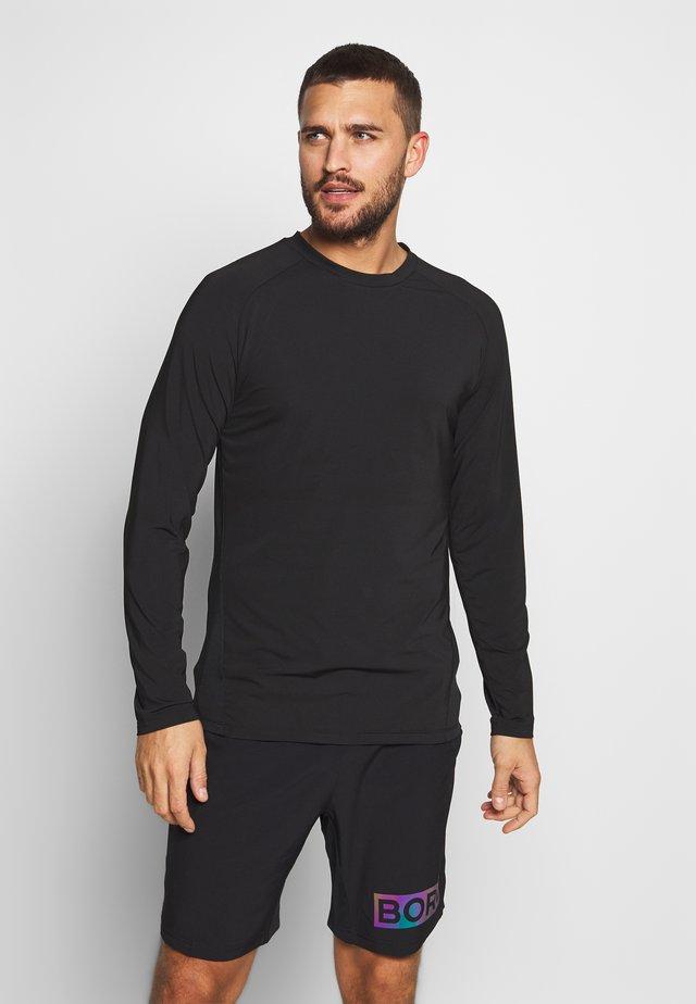 ANTE TEE - Sports shirt - black beauty