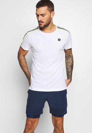 TOMLIN TEE - T-shirt med print - brilliant white