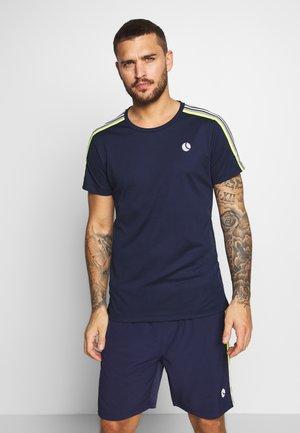 TOMLIN TEE - T-shirt med print - peacoat