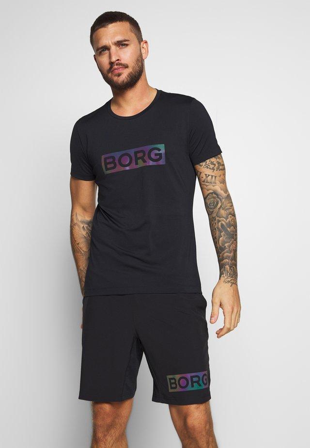 ALDO TEE - T-shirt med print - black radiate