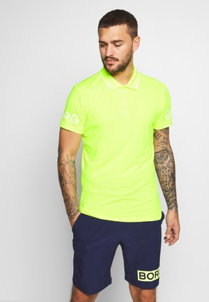 TENNIS - Sports shirt - safety yellow