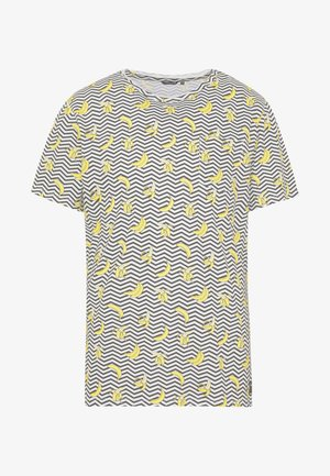 SUMMER TEE - T-shirt med print - black