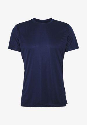 ASTOR TEE - T-shirt imprimé - peacoat