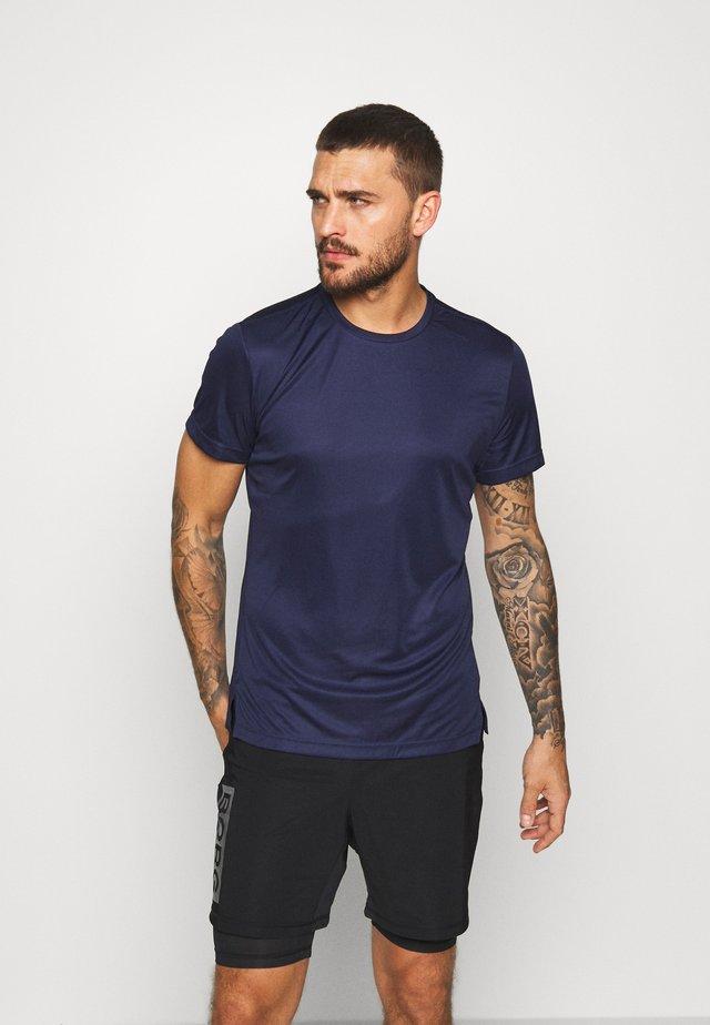ASTOR TEE - T-shirt print - peacoat