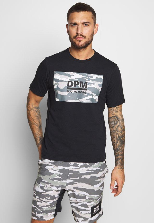 SPORT TEE - T-Shirt print - black beauty