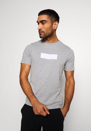 SPORT TEE - T-shirt print - light grey melange
